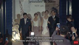 父拒牽同志女兒走紅毯 CEO帶她完成婚禮 同志,結婚,婚禮  翻攝自HSBC NOW YouTube