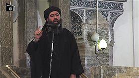 IS首腦巴格達迪Abu Bakr al-Baghdadi 圖/美聯社/達志影像