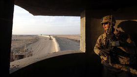 在伊拉克的美軍_路透社/達志影像