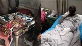自動麻將機爆炸 圖/翻攝自《三湘都市報》