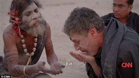印度,食人族,Aghori,阿斯蘭,Reza Aslan,人腦(http://www.dailymail.co.uk/news/article-4296404/CNN-presenter-Reza-Aslan-eats-HUMAN-BRAIN.html)