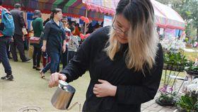 咖啡,南藝大,范馨文,台南,玉井(中央社)