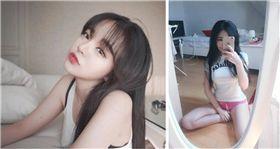 正妹,孫敏慶,韓國,床照,性感 圖/翻攝自IG
