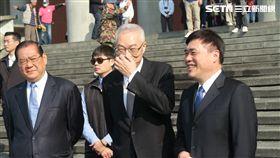 前副總統吳敦義,國民黨副主席郝龍斌。(記者盧素梅攝)
