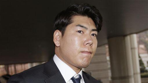 韓國強打姜正浩酒駕案出庭。(資料照/美聯社/達志影像)