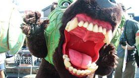 日本名產,獵奇,進化,北海道,夕張,哈密瓜熊,吉祥物,翻攝自日本網站Curazy