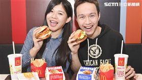 麥當勞推新堡 美式重口味限期開賣