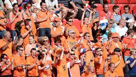 荷蘭球迷,運動,體育,足球(圖/達志影像)