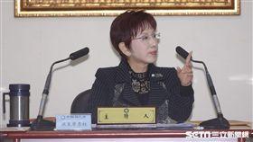 國民黨主席洪秀柱 圖/記者林敬旻攝