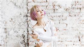 林明禎 新專輯 造型公開 變髮 粉紫髮色 圖/種子提供