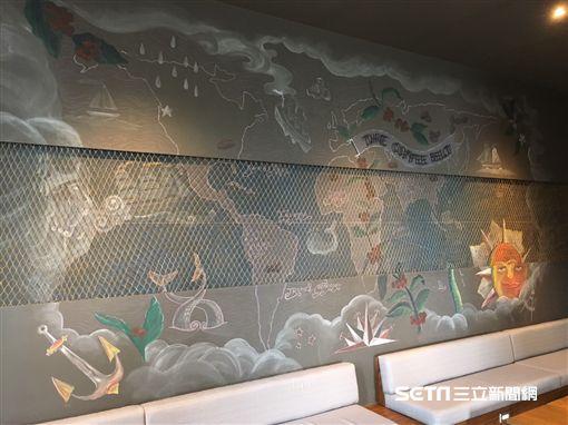 星巴克,澎湖門市,海洋風,限定商品。(圖/統一星巴克提供)