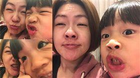 ▲小S今日也PO出與許老三的鬼臉照!(圖/翻攝自小S 徐熙娣 官方粉絲專頁)