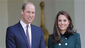 威廉王子,凱特王妃,英國,皇室,法國訪 圖/美聯社/達志影像