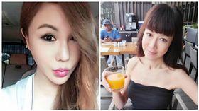 利菁,羅霈穎(合成圖/翻攝自利菁、羅霈穎臉書)
