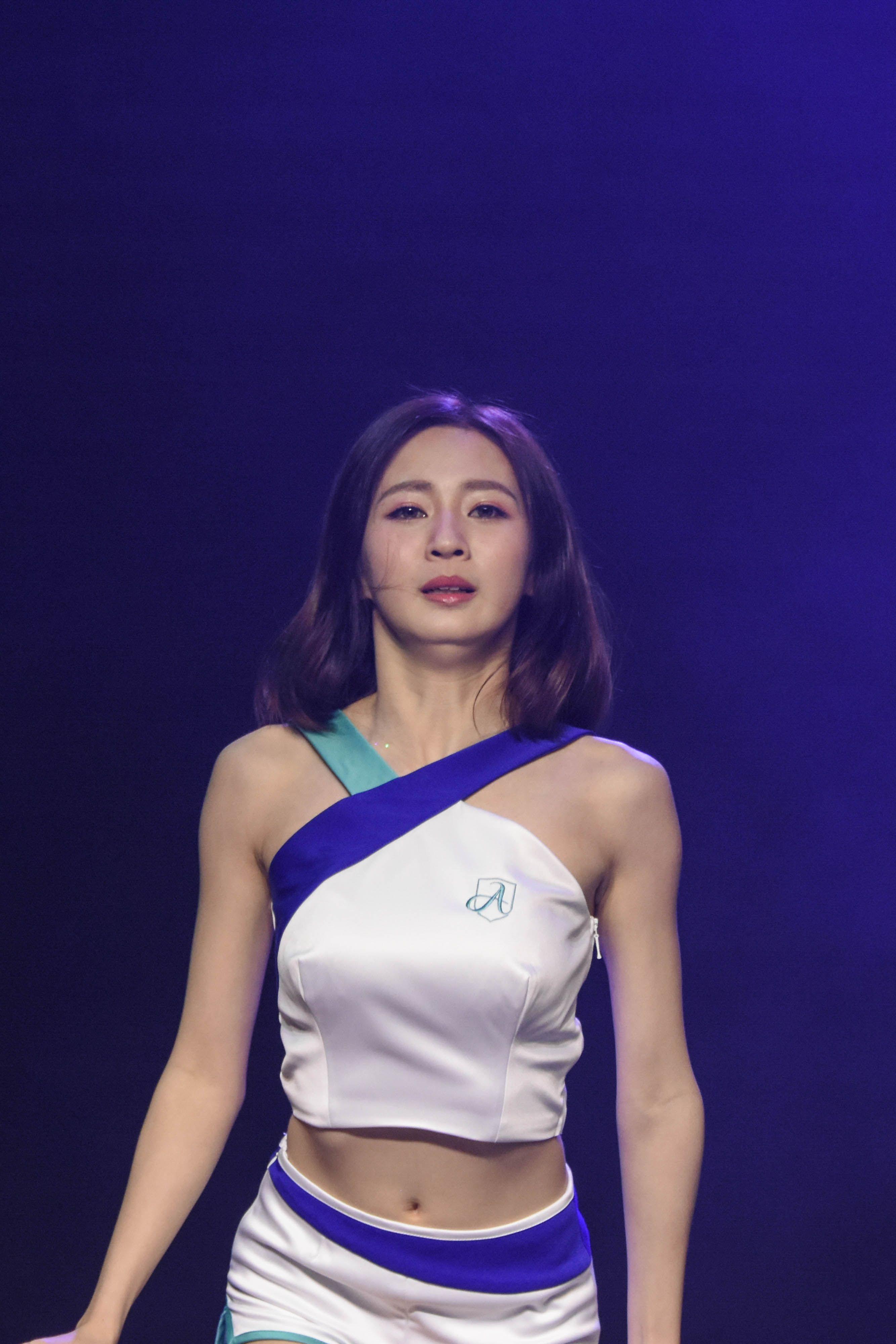 富邦悍將記者會,Fubon Angels首次公開亮相  圖/記者林敬旻攝