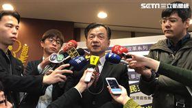 法務部長邱太三講李永得事件。潘千詩攝影