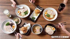 日本拉麵,美食,豚骨一燈。(圖/豚骨一燈提供)
