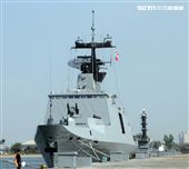 敦睦艦隊包括磐石軍艦、拉法葉西寧軍艦。。(記者邱榮吉/左營拍攝)