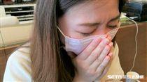 醫師張一誠說,咳嗽1至2週未好轉,夜間還會咳醒,可能是氣喘徵兆。(圖/記者楊晴雯攝)