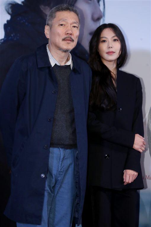 洪尚秀、金敏喜 圖/達志影像