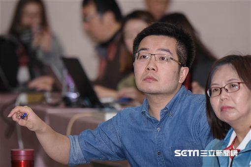 台北市政府媒體事務組機要鄒建威 圖/記者林敬旻攝