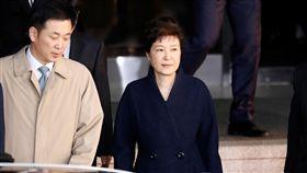 南韓總統朴槿惠、偵訊(圖/路透社/達志影像)