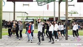 宜蘭14校聯合舞展 幾米公園快閃活動(圖/梁佑任攝影、授權提供)