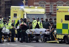 英國國會大廈遭攻擊、恐攻/(圖/美聯社/達志影像)