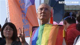 同婚釋憲辯論庭,憲法法庭,同性戀,祁家威 圖/記者林敬旻攝