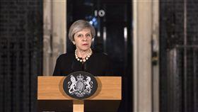 Theresa May,梅伊,英國,首相,恐攻 圖/美聯社/達志影像