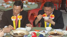 東南亞,考察,柯文哲,肉骨茶,馬來西亞,吉隆坡/中央社