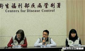 疾病管制署今(28)天公布1例境外移入,北部27歲男性,確診感染麻疹確定病例。(圖/記者楊晴雯攝)