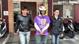 楊嫌竊取鄰居機車後,前往內江街搶奪1名從北護分院看完病的婦人,得手9000元及iPhone手機(楊忠翰攝)