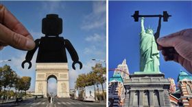 攝影,英國,ig,旅遊,環遊世界,自由女神,凱旋門,創意,藝術 圖/翻攝自ig