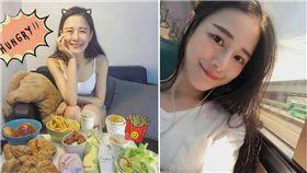 洪千淑,千千,正妹,大胃王 圖/翻攝自臉書