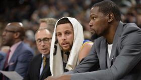 Kevin Durant,Stephen Curry(ap)