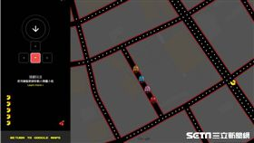 Google Map貪吃鬼PAC-MAN遊戲