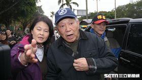 反年金改革,八百壯士,軍公教,前國民黨副主席詹啟賢 圖/記者林敬旻攝
