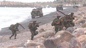 -國軍-搶灘-演習-登島-
