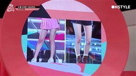南韓女團,膝蓋,粉紅色,遮瑕,皺紋,粉底液,化妝,彩妝 (圖/翻攝自Naver)