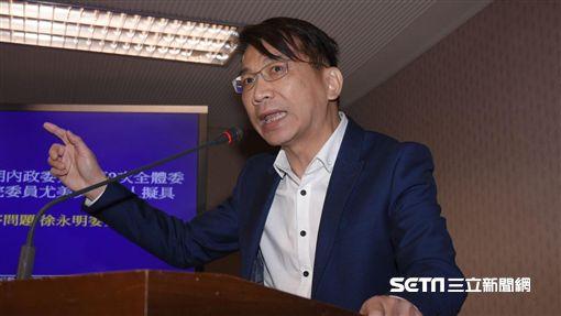 立法院內政委員會23日續審兩岸協議監督條例,徐永明 圖/記者林敬旻攝