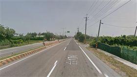 台17線西濱公路彰化芳苑路段/翻攝自Google Map