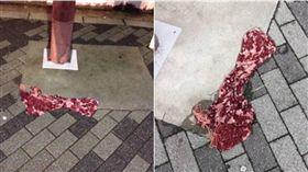 牛肉,圍巾,錯覺,牛肉片,推特 圖/翻攝自推特