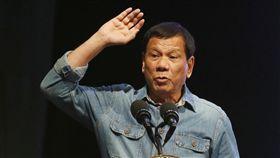 菲律賓總統杜特蒂_美聯社/達志影像
