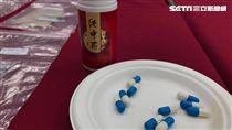消基會檢測來源不明中藥含有西藥成分。(圖/記者馮珮汶攝)