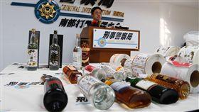 假酒,高粱,酒精,高雄,威士忌 圖/中央社