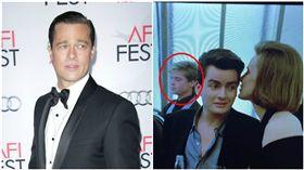 布萊德彼特(Brad Pitt)查理辛(Charlie Sheen) 圖/達志、翻攝自查理辛IG