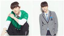 黃旼炫,黃旼泫,NU'EST(合成圖/翻攝自Produce 101官方網站)