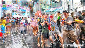 泰國潑水節。(圖/泰國觀光局提供)