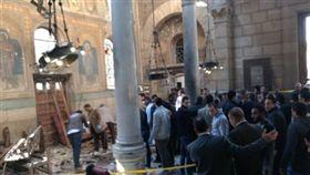埃及基督徒又遭攻擊!一間位在開羅北部90公里外的城市坦塔(Tanta),一間科普特教派教堂遭到炸彈攻擊, twitter